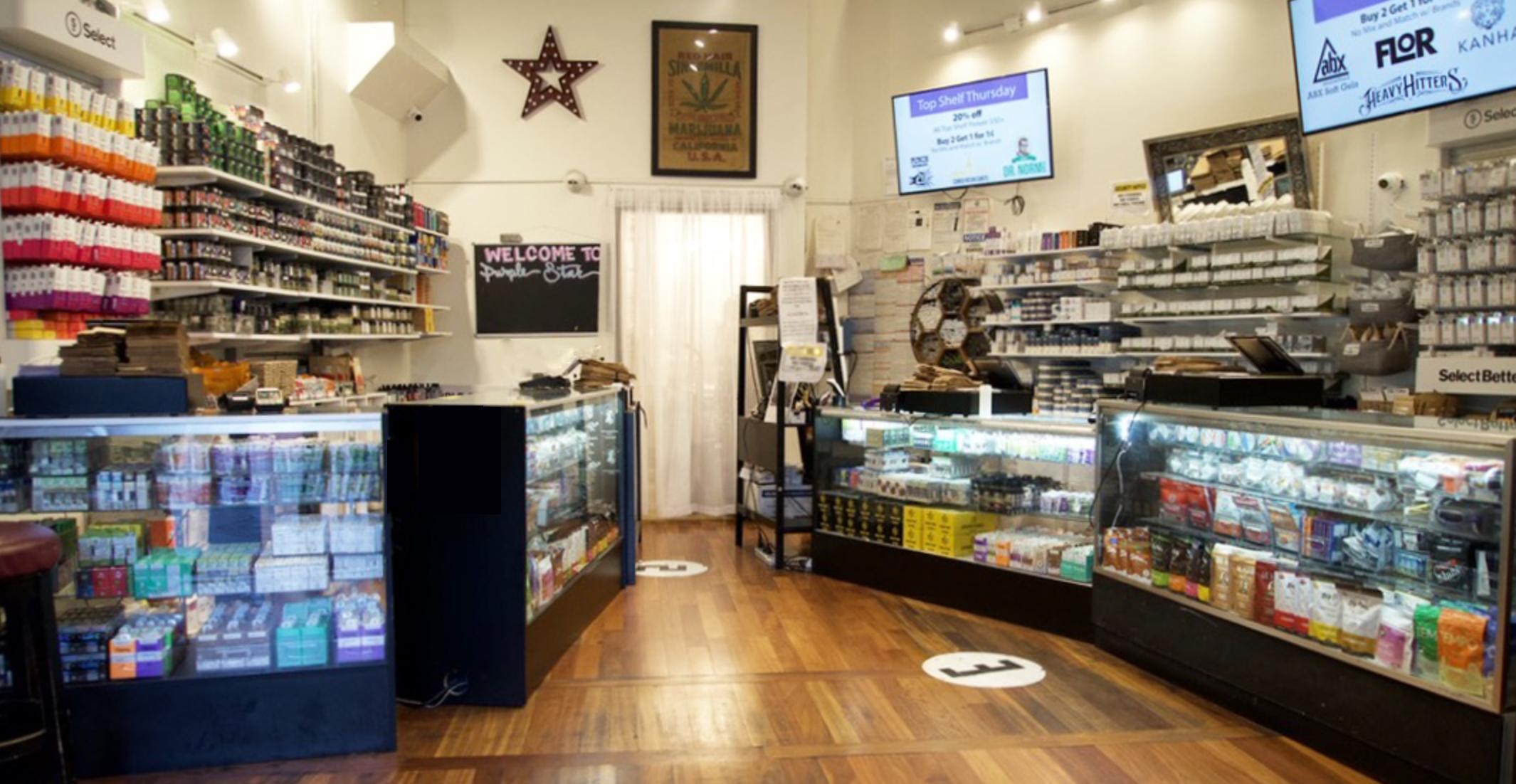 Purple Star storefront